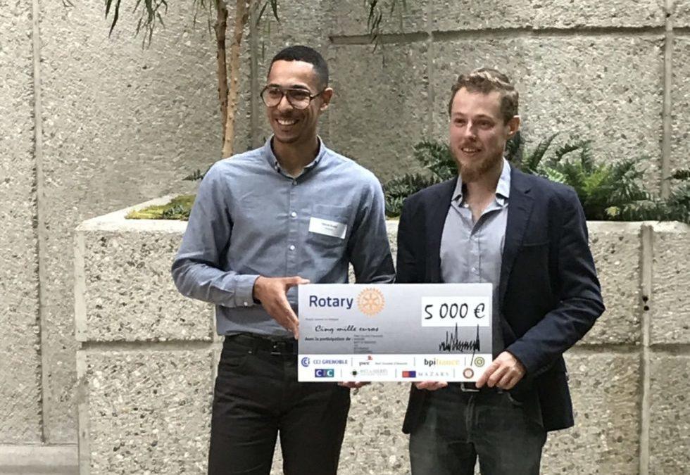 DiamFab 1st prize of Trophée Rotary 38