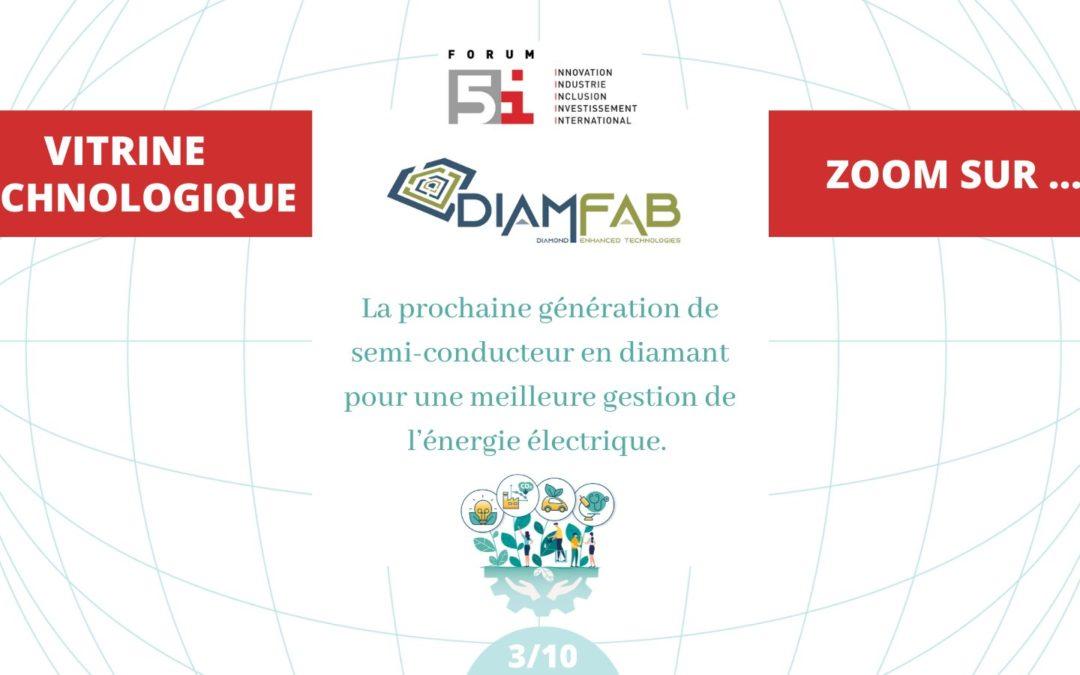 DIAMFAB at Forum 5i, 1st July at Grenoble